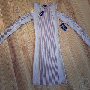 Express Sz Med Sweater Dress